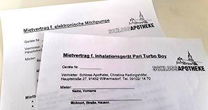 Verleih Geräte-Apotheke Wilhermsdorf